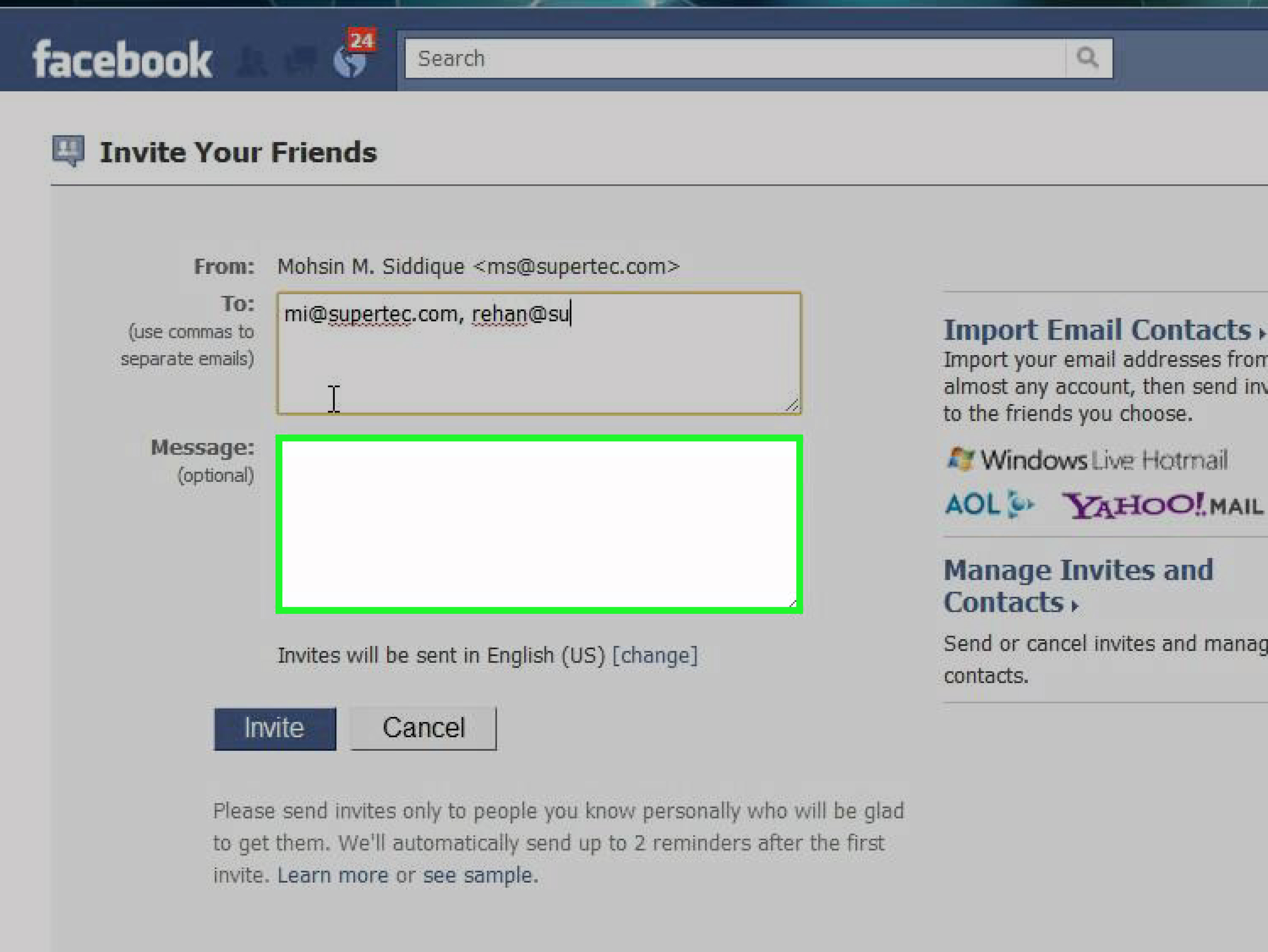 3 Ways To Find Your Friends On Facebook  Wikihow regarding How To Connect Yahoo To Facebook