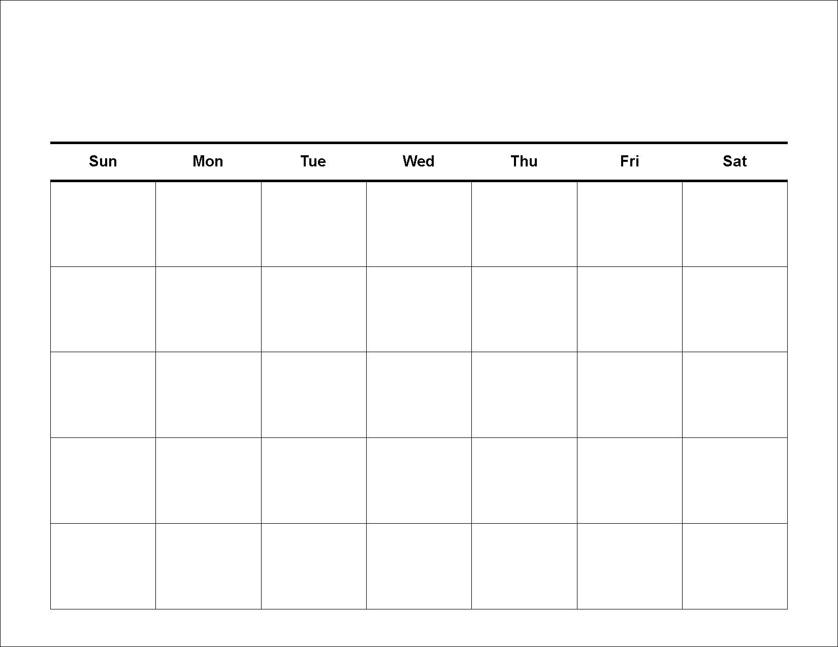 30 Day Blank Calendar Template 2 Week Blank Calendar with 2 Week Blank Calendar Printable