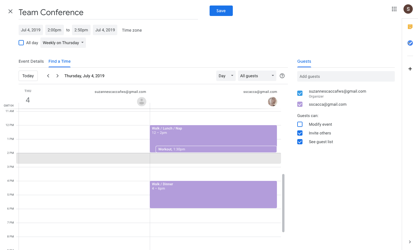 33 Google Calendar Hacks To Boost Your Productivity | Copper for Google Calendar Hide Non Working Hours