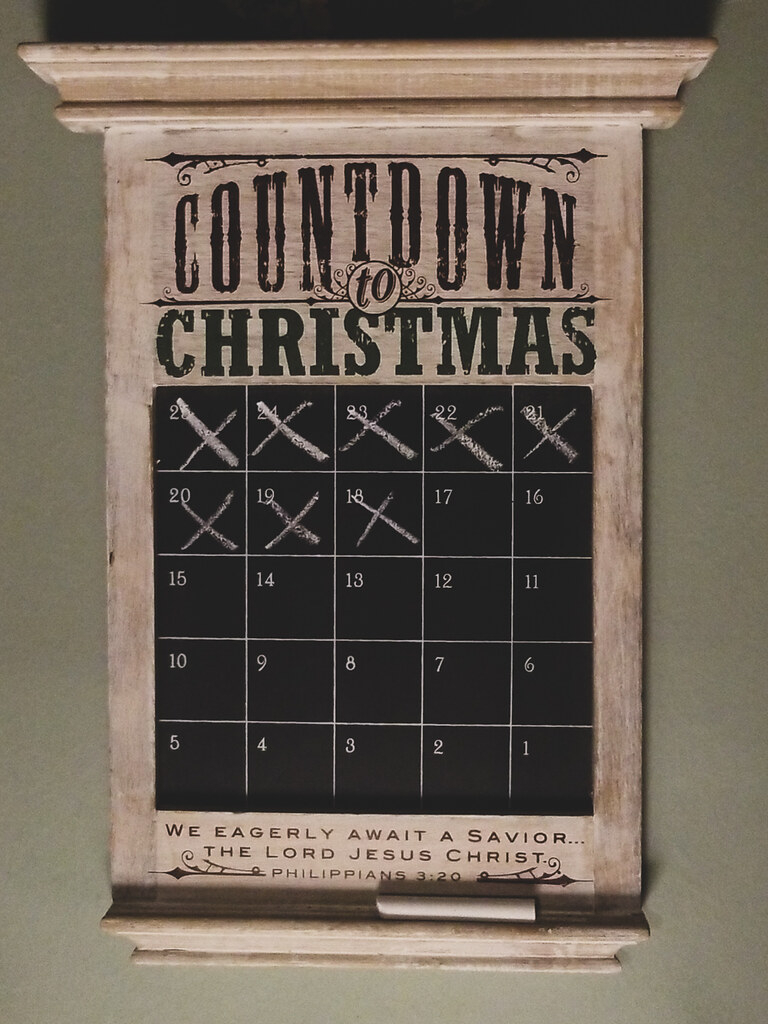 341365 : Countdown Is On | Denise Mattox | Flickr with regard to 365 Countdown Calendar
