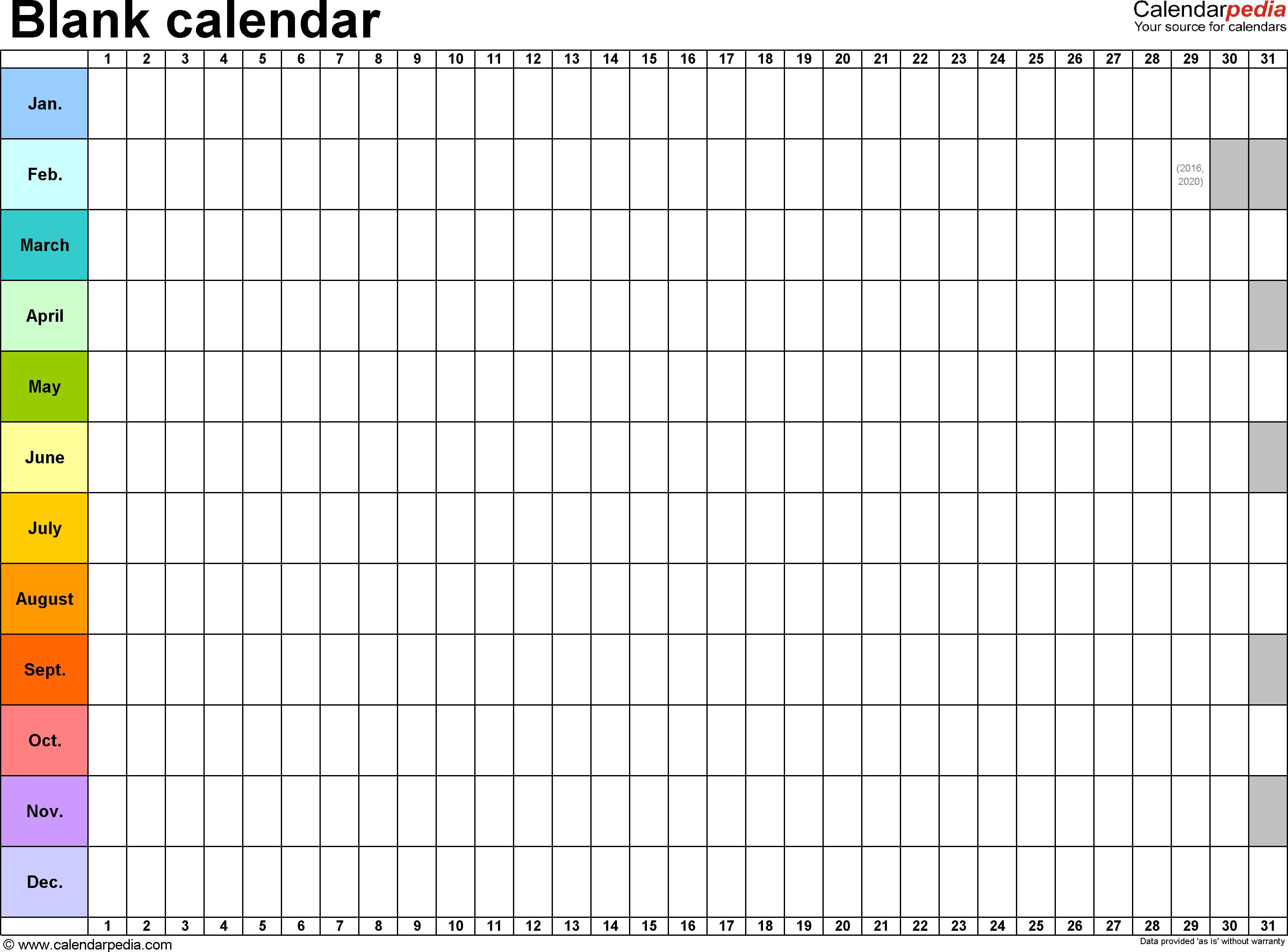 365 Day Calendar Template  Topa.mastersathletics.co regarding 365 Day Countdown Calendar