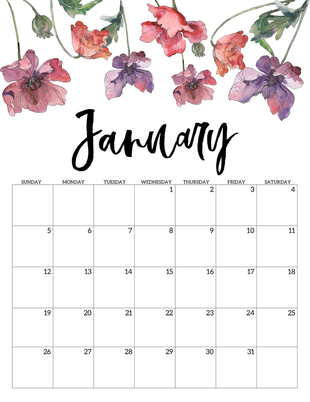 62+] January 2020 Calendar Wallpapers On Wallpapersafari intended for 123 Calendar January 2020