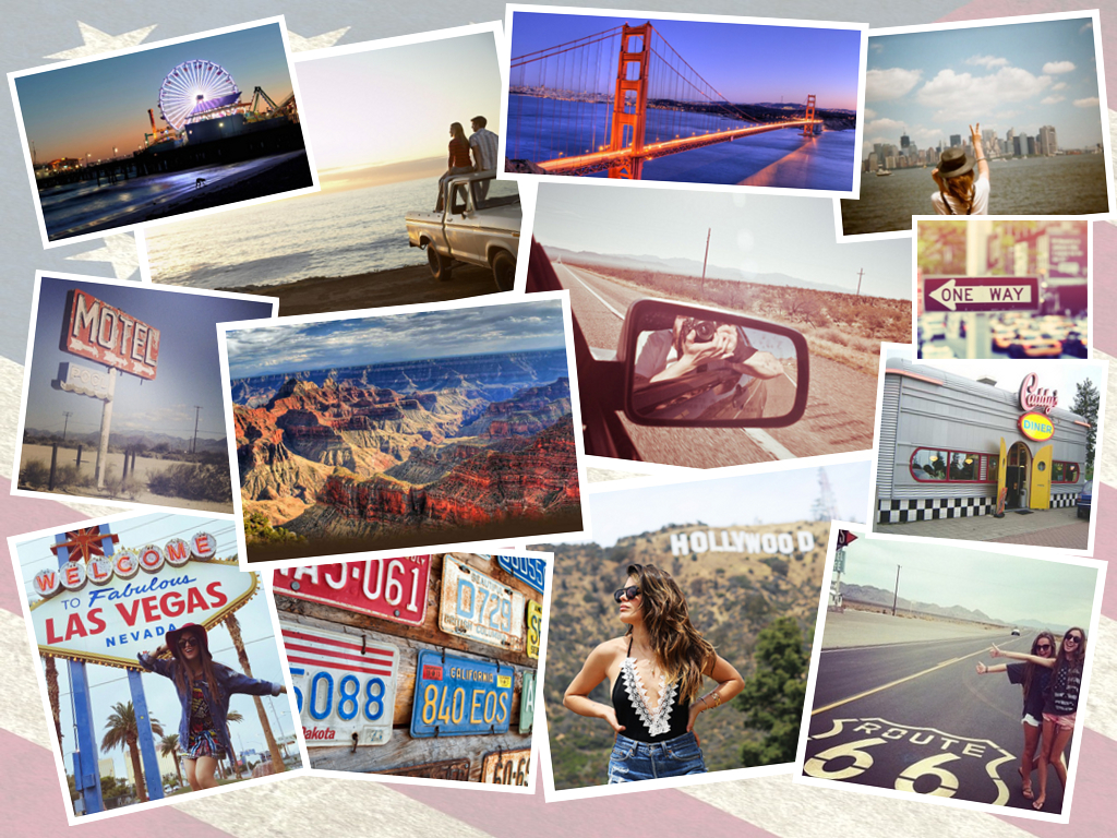 6Usaroadtripcollage   Photo Collage Design, Collage pertaining to Collage Calendar Maker
