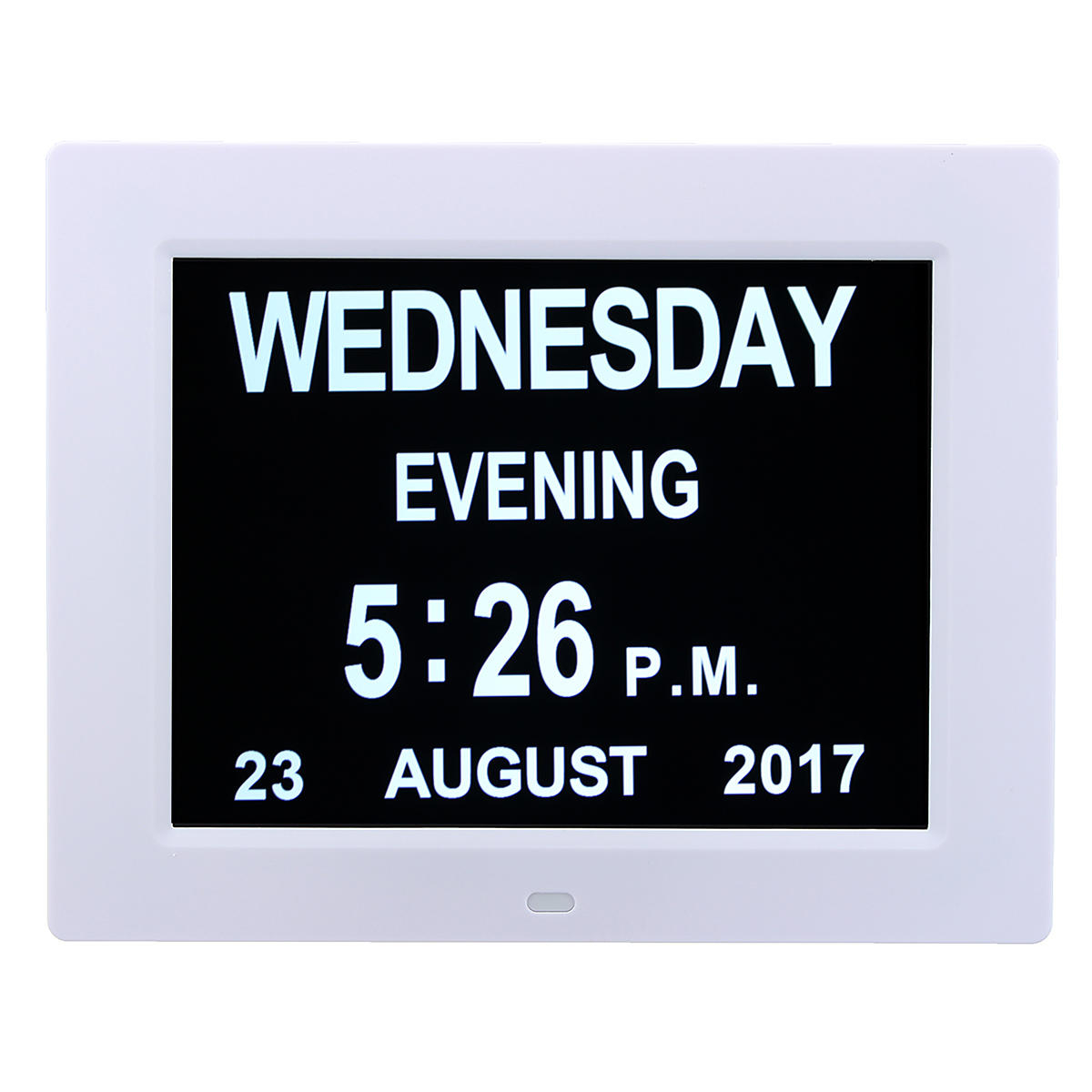7 Inch Led Digital Calendar Day Clock Extra Large Time Day Week Month Year for Extra Large Photo Calendar