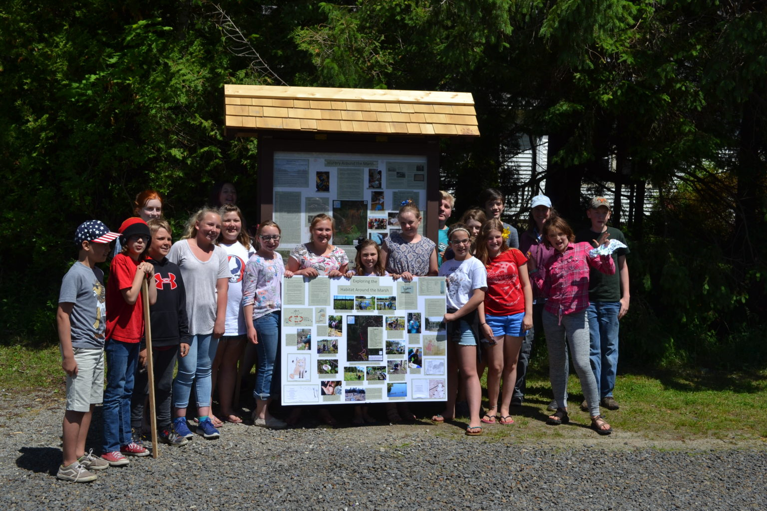 A Great Year Of Learning About Maine's Environment By Students pertaining to Edna Drinkwater School