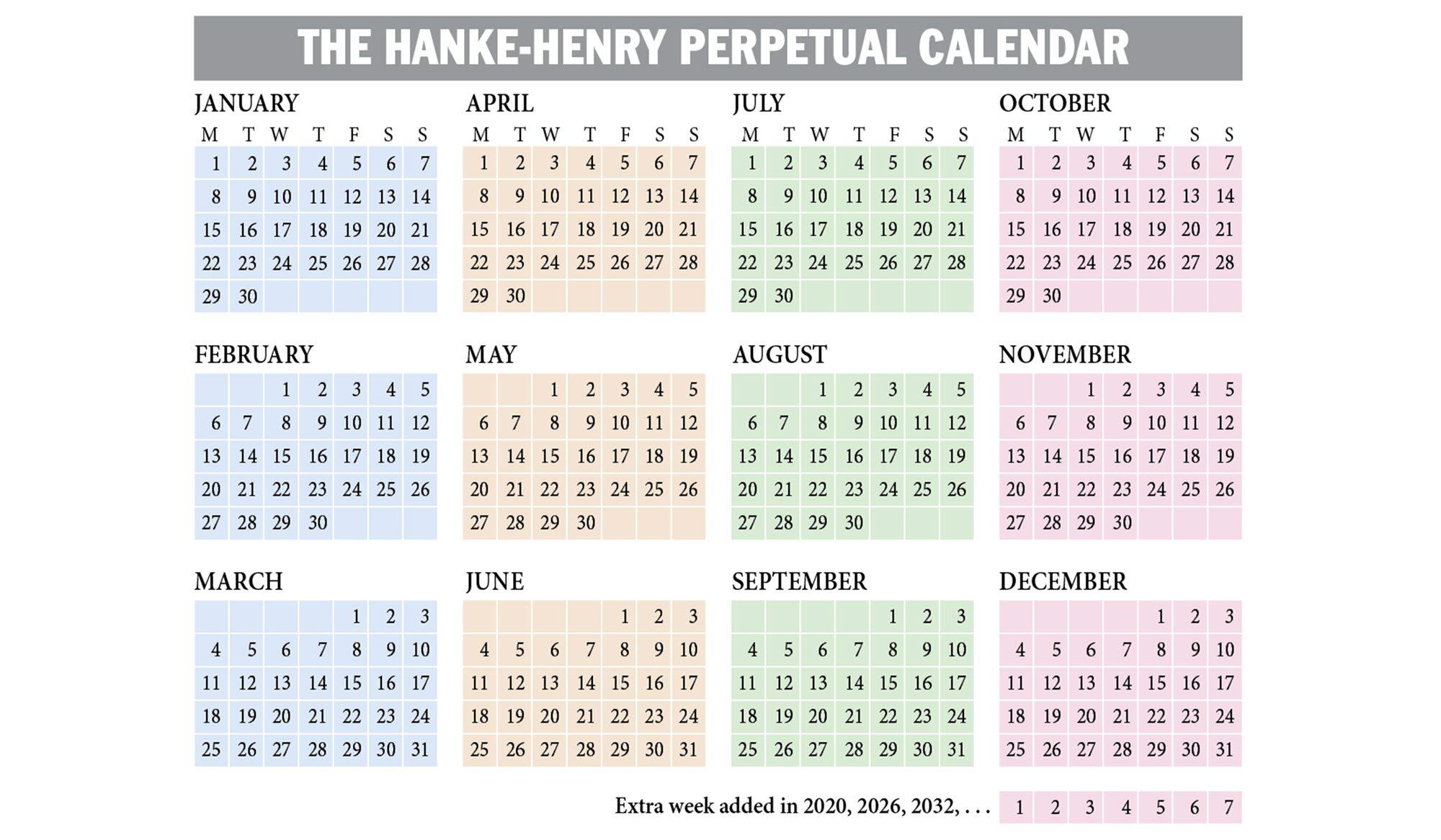 A Trump Calendar, Forever?  Washington Times inside Kodak Calendar Maker