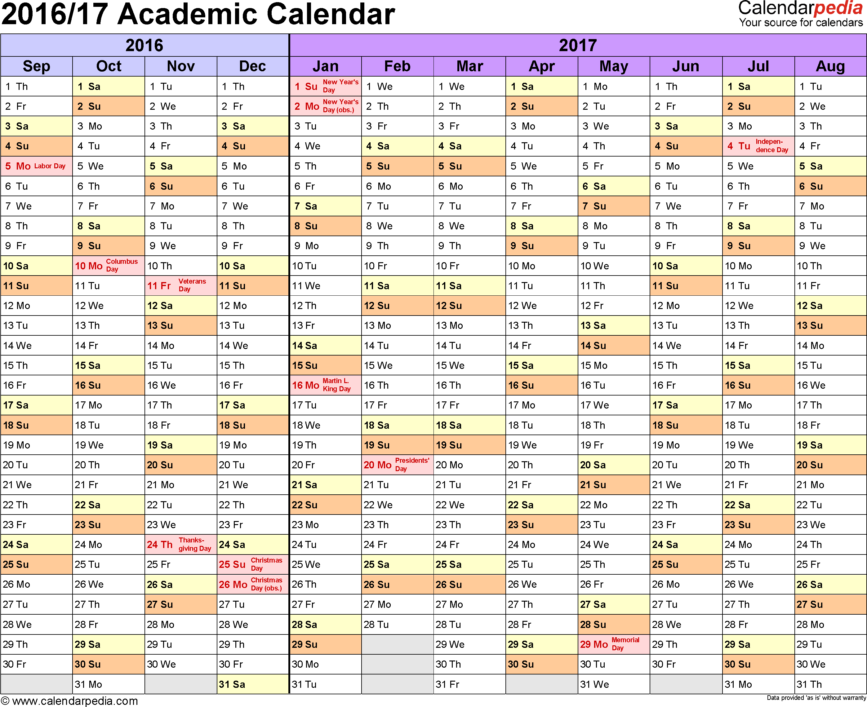 Academic Calendar Blank  Bolan.horizonconsulting.co intended for Uga Academic Calender
