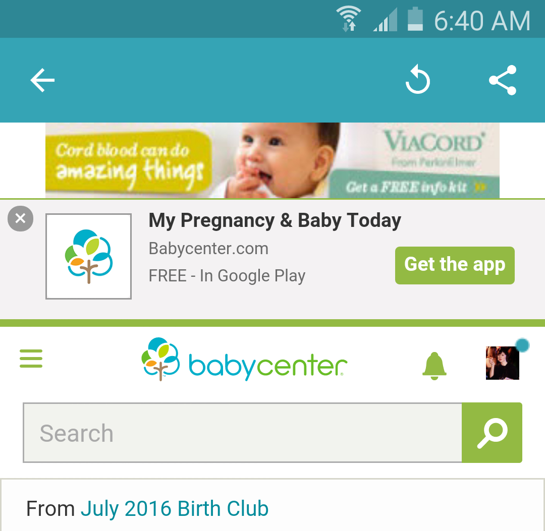 Ad For The App  Babycenter regarding July 2020 Babycenter