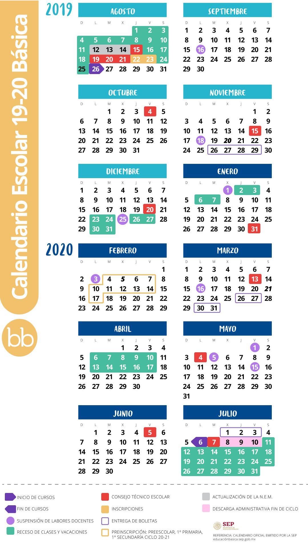 Adiós A Los Viernes De Consejo Técnico En El Nuevo for Calendario Escolar Sep 2020 2020