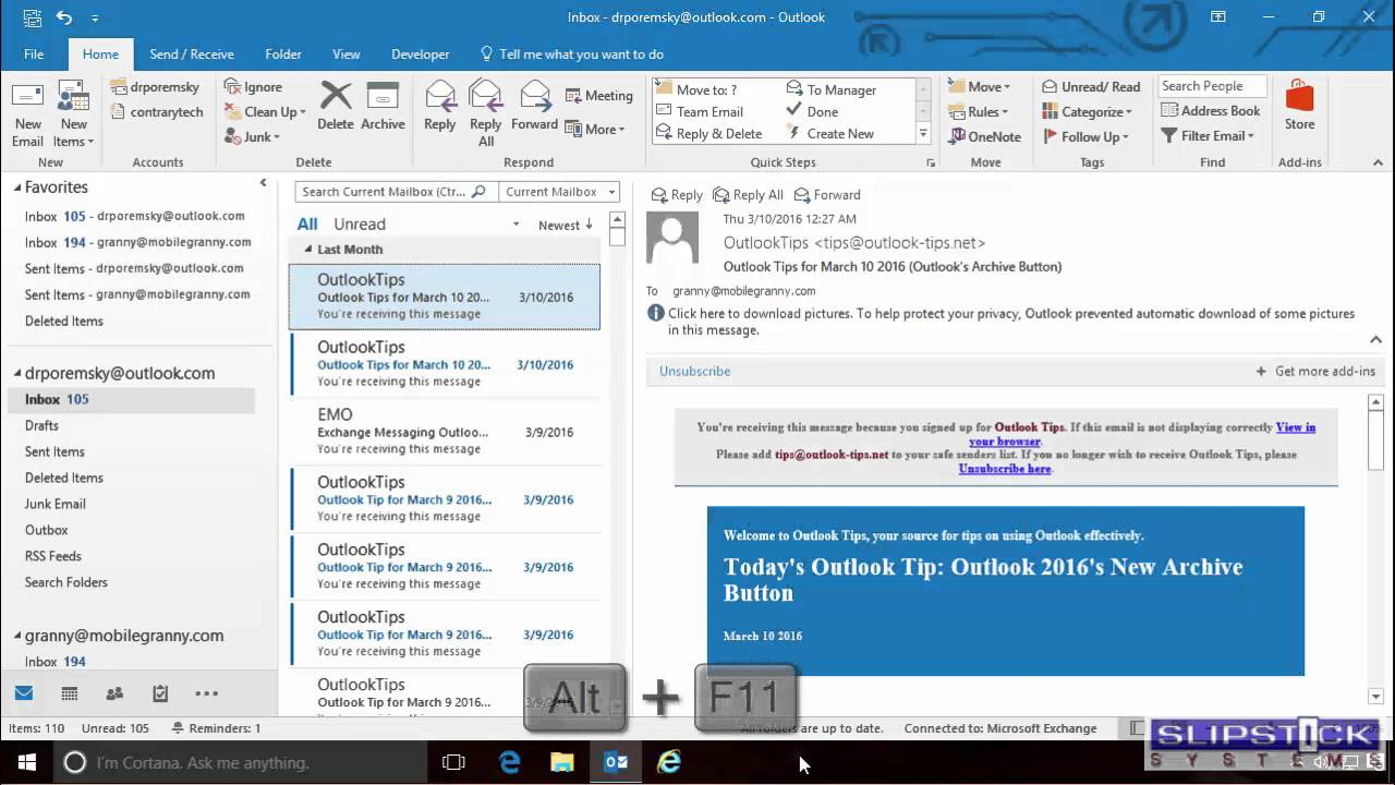 Adjusting Outlook's Zoom Setting In Email in Outlook Calendar Lock Icon