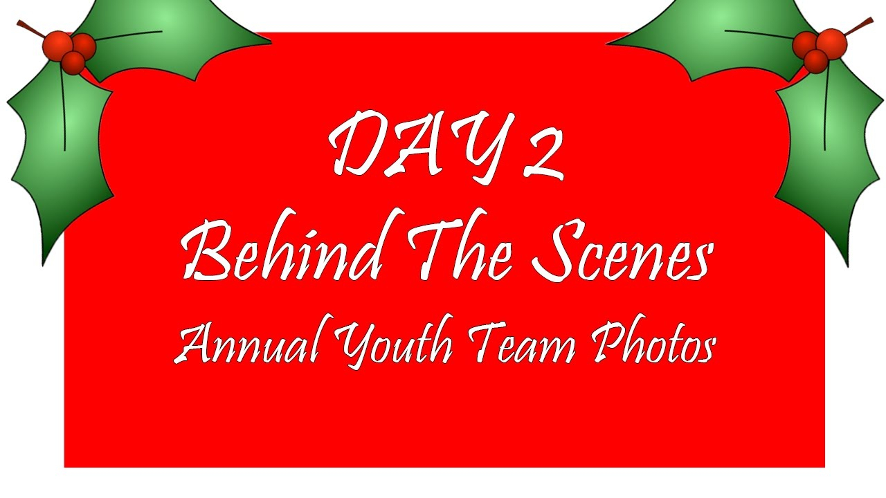 Advent Calendar Day 2: Bts | Youth Team Photo with Bts Advent Calendar