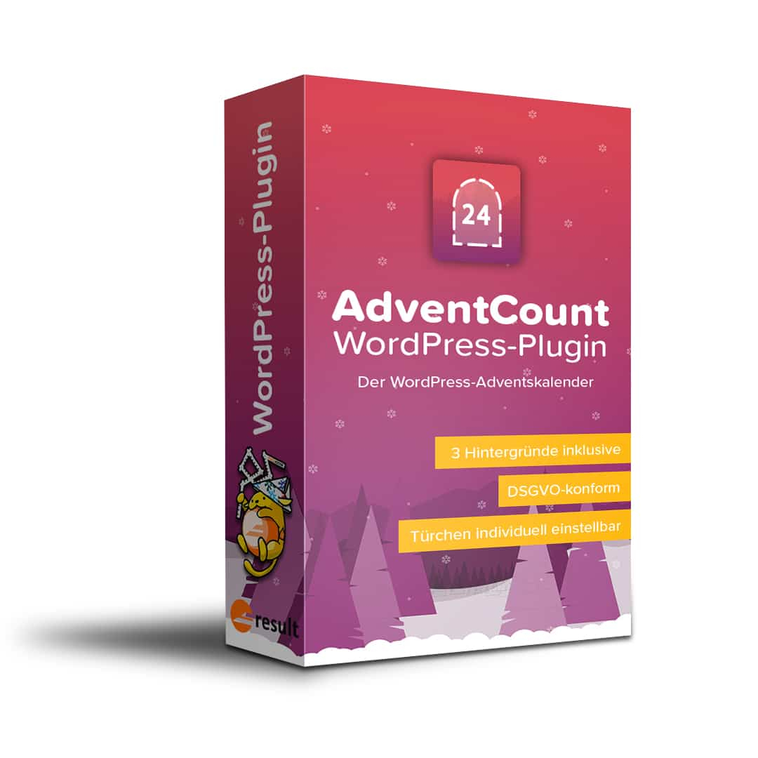 Adventcount  Advent Calendar Plugin For WordPress [Digital] inside Advent Calendar WordPress Plugin