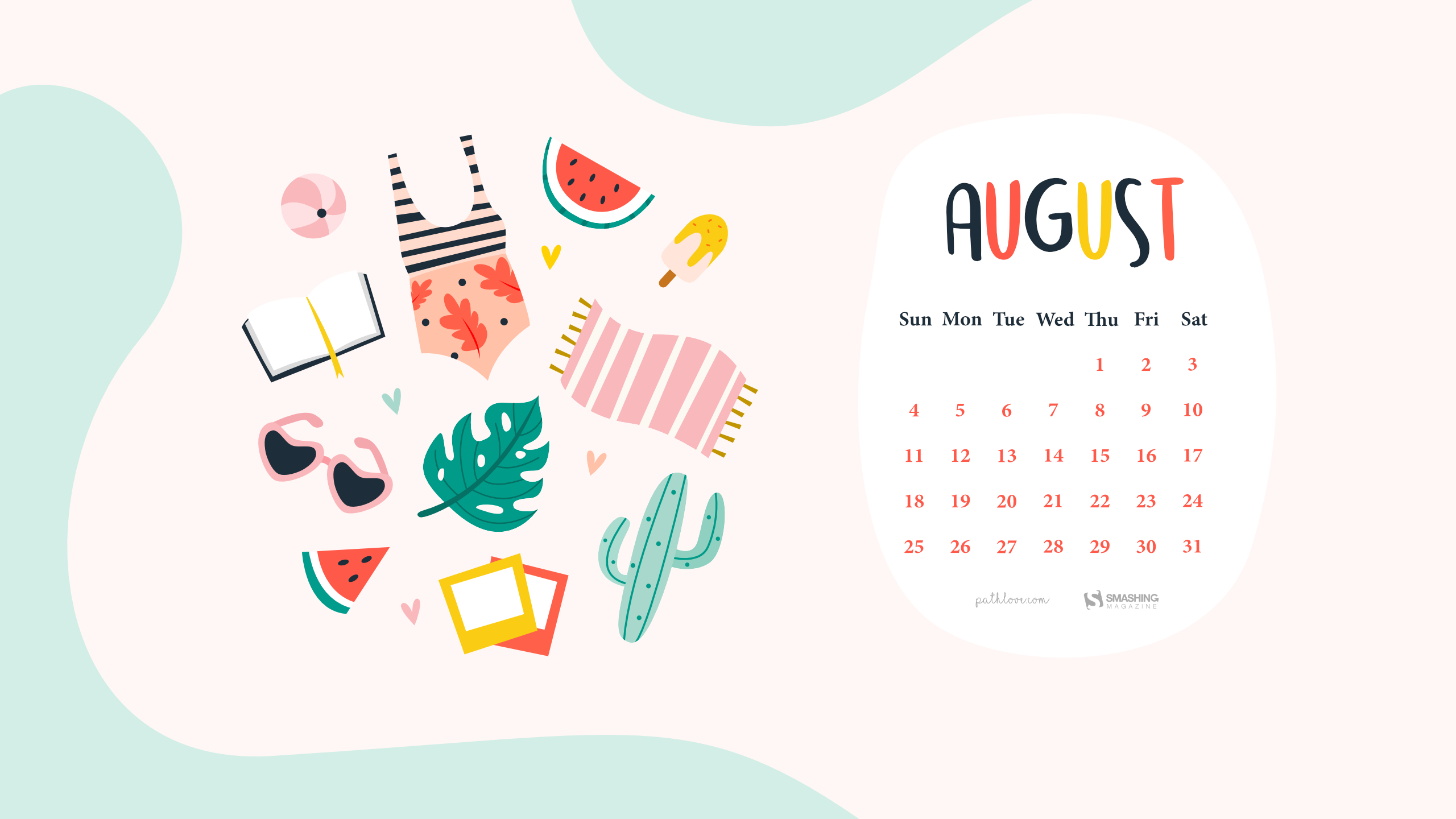 Adventures In August (2019 Wallpapers Edition) — Smashing pertaining to Smashing Magazine Calendar