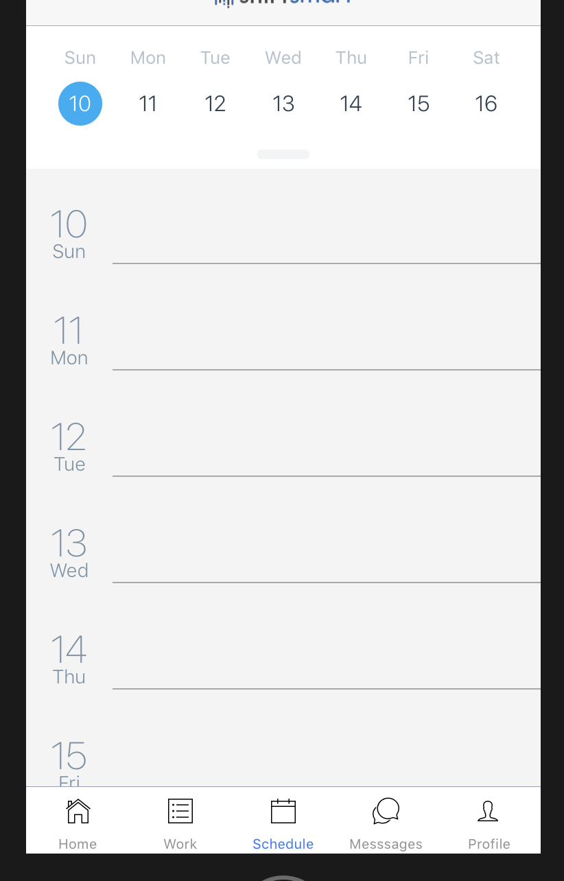Agenda's Calendarlist Header Is Invisible On Initial Render inside React-Native-Calendars Agenda Example