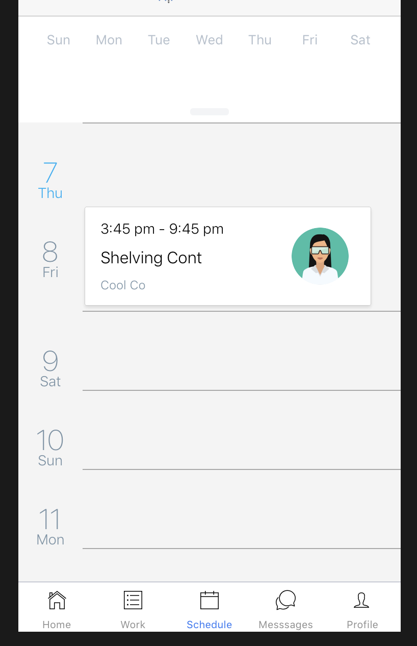 Agenda's Calendarlist Header Is Invisible On Initial Render with React-Native-Calendars Agenda Example
