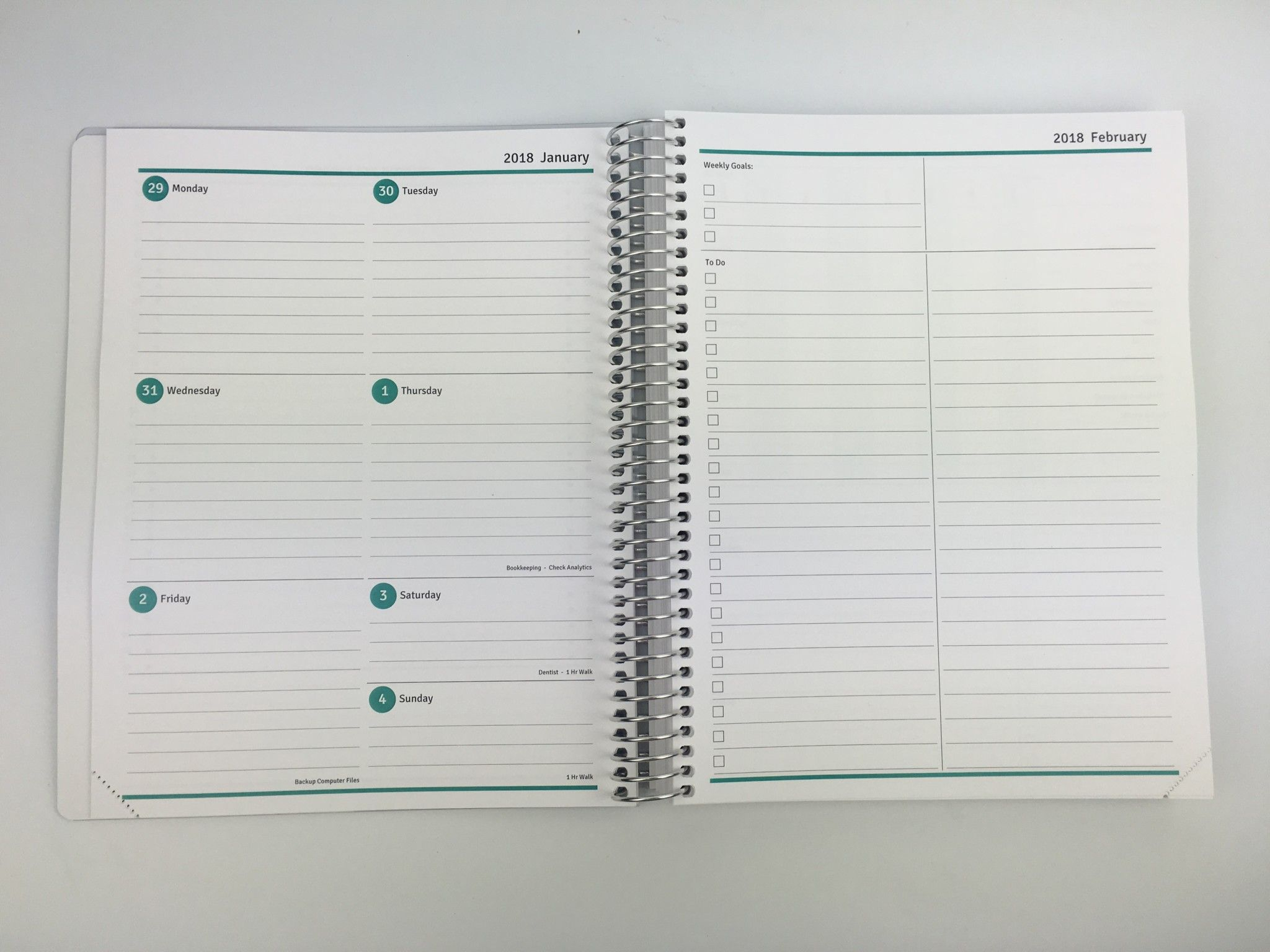Agendio Review (Custom, Personalised Weekly Planner)  Pros with All About Planners