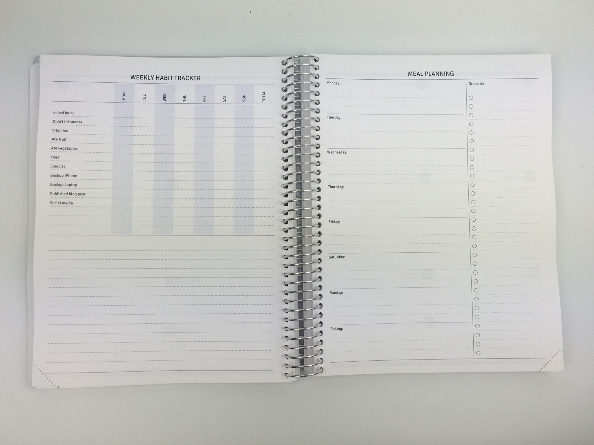 Agendio Review (Custom, Personalised Weekly Planner)  Pros with regard to All About Planners