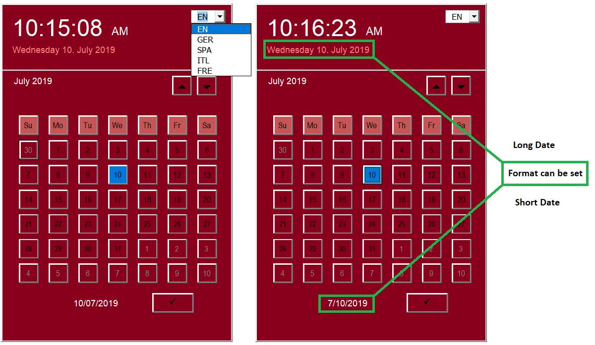 Alternative To Calendar Control | Siddharth Rout regarding Vb6 Calendar Control
