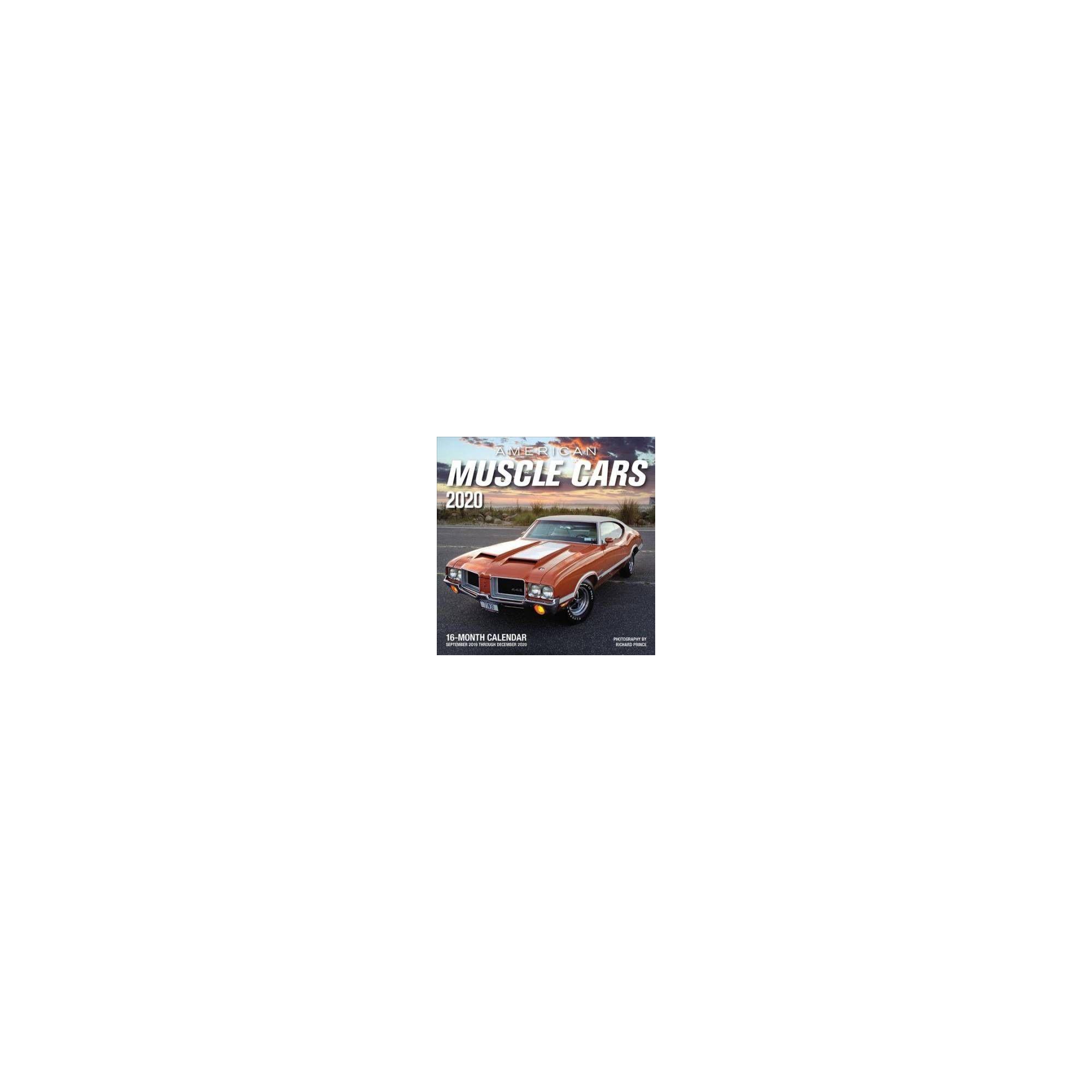 American Muscle Cars 2020 Calendar : Includes September 2019 pertaining to September Thru December 2020 Calendar
