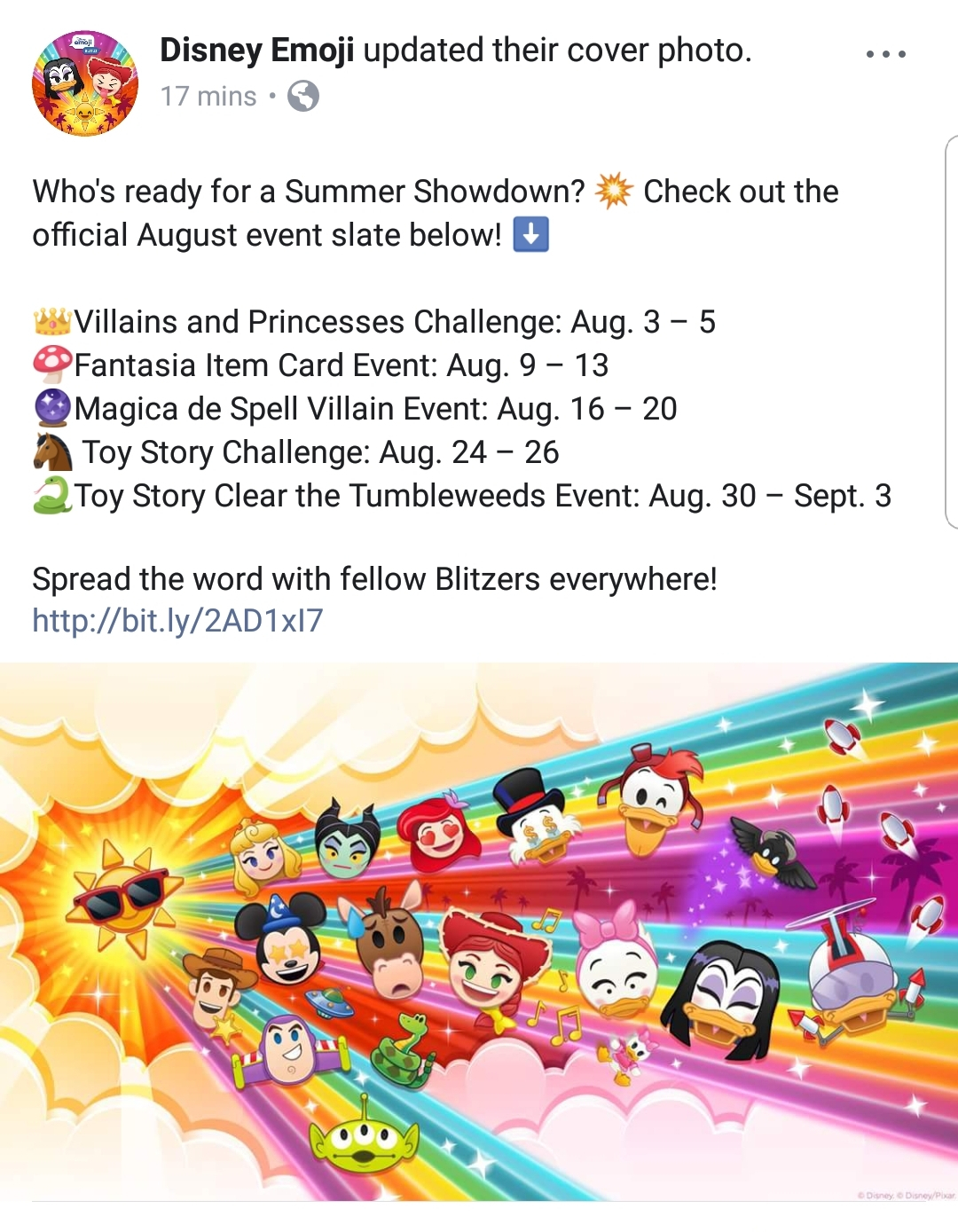 And Here's The List Of Events : Disneyemojiblitz intended for Calendar Disney Emoji Blitz
