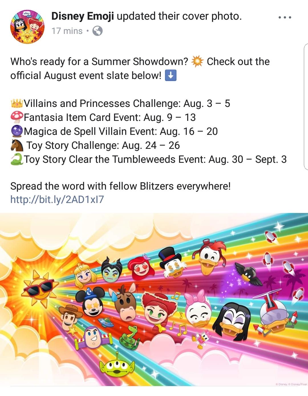 And Here's The List Of Events : Disneyemojiblitz throughout Disney Emoji Blitz Events Calendar