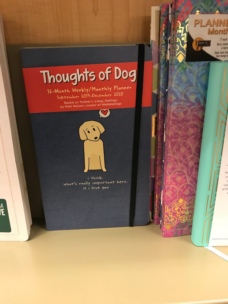 """Andrews Mcmeel On Twitter: """"good News Frens! @dog_Feelings within Good News Planners"""