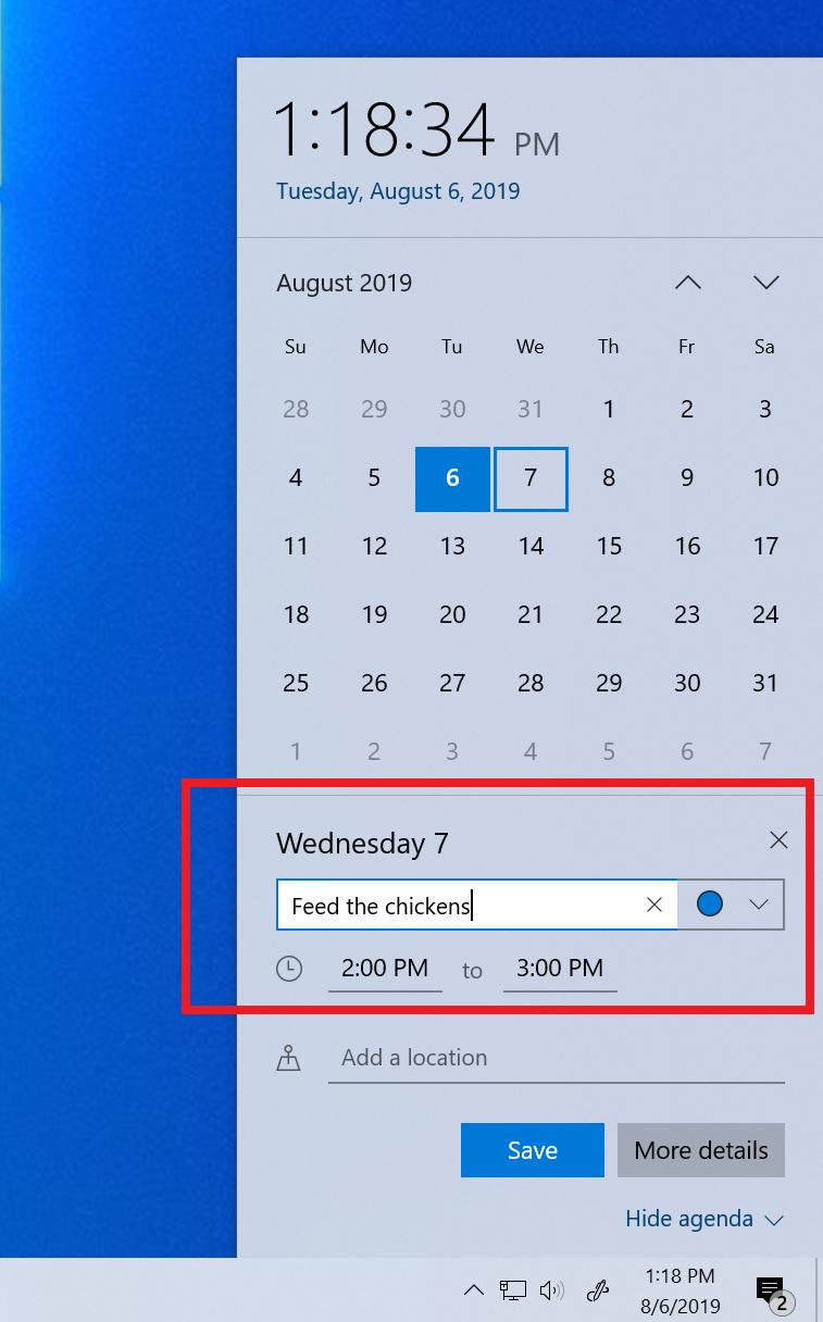 Announcing Windows 10 Insider Preview Build 18362.10012 within Add Google Calendar To Taskbar Windows 10