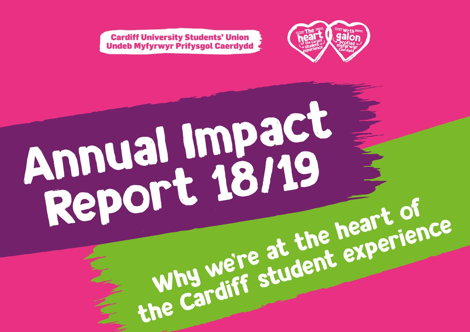 Annual Impact Report 201819 By Cardiff Students  Issuu within Nus Academic Calendar 2018/19
