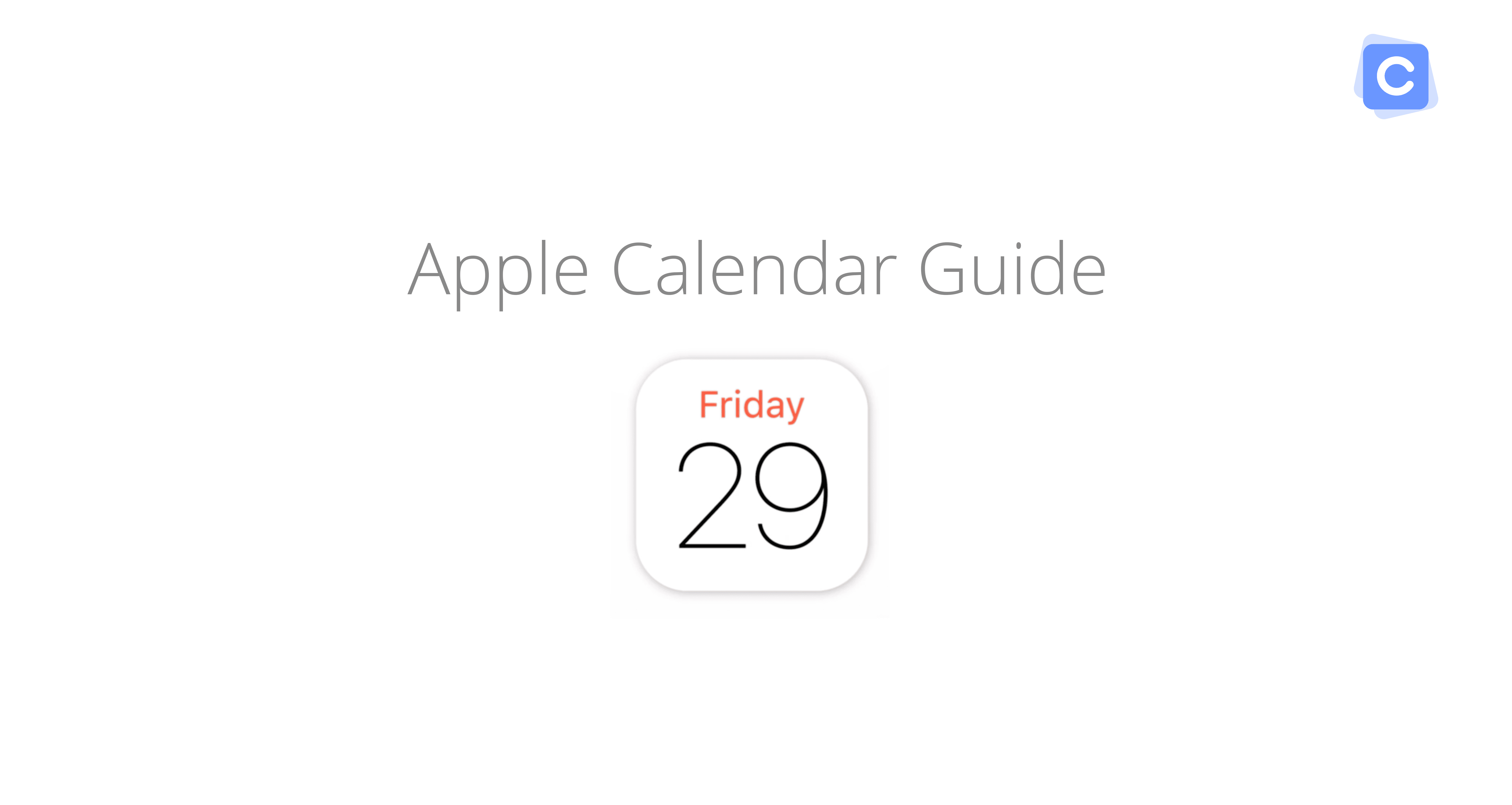 Apple Calendar Guide: Everything You Need To Know About Ical with Mac Calendar Icon Not Updating