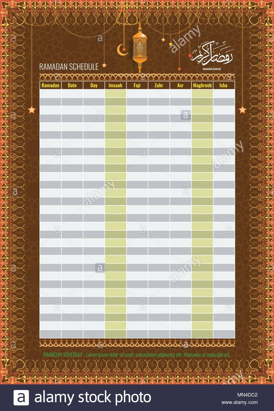 Arabic Calendar Stock Photos & Arabic Calendar Stock Images inside Isha Usa Lunar Calendar