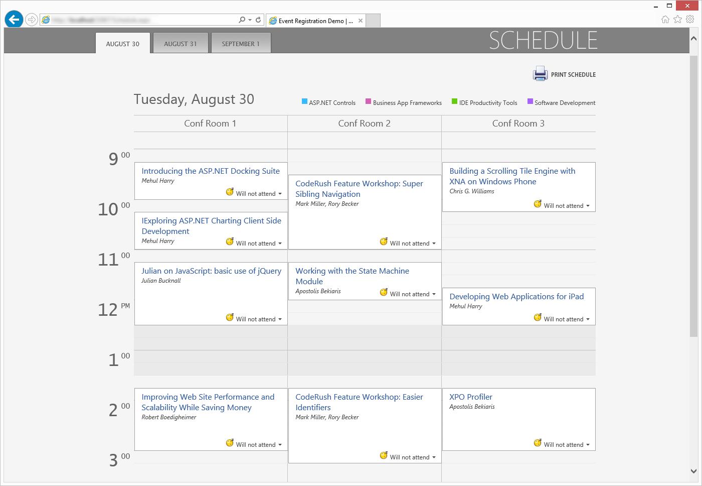 Asp Scheduler  Webforms And Mvc | Devexpress in Mvc Calendar Control