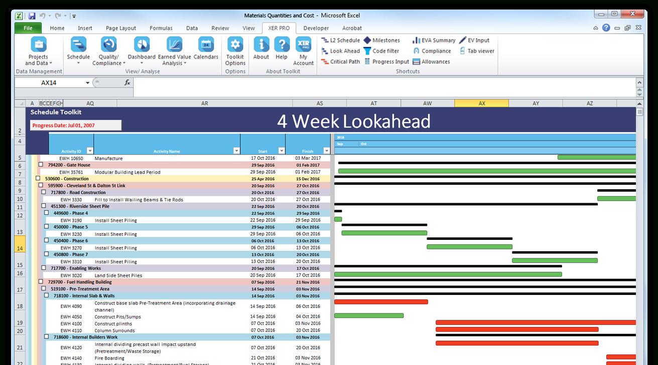 Asta Power Project Crack Codes For Windows  Crisetrust regarding Look Ahead Schedule Template