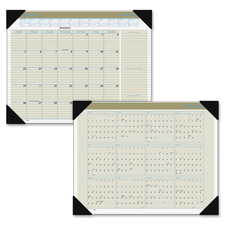 Ataglance Desk Pad Calendar 2016, Executive, 2158. X 16 intended for Cvs Desk Calendar