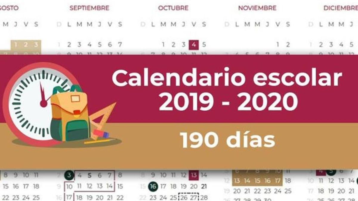 Atención: Sep Da A Conocer Calendario Escolar 20192020 inside Calendario Escolar Sep 2020 2020