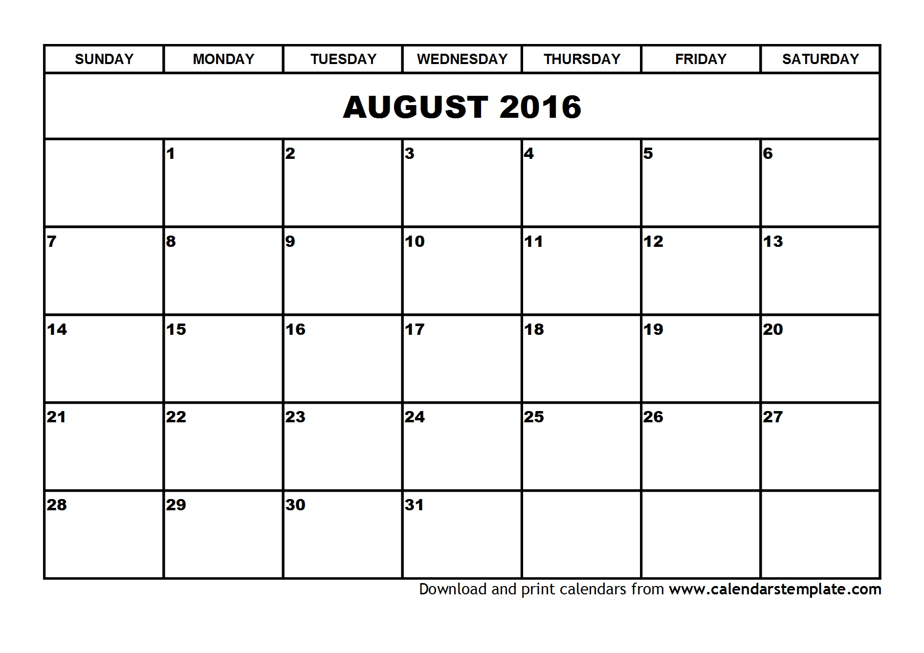 August 2016 Template Calendar 3  #photo #pictures #images within July August 2016 Calendar
