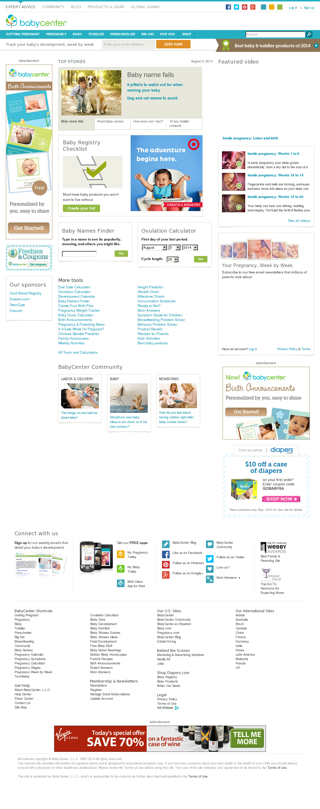 Babycenter Competitors, Revenue And Employees  Owler with regard to Babycenter August 2020