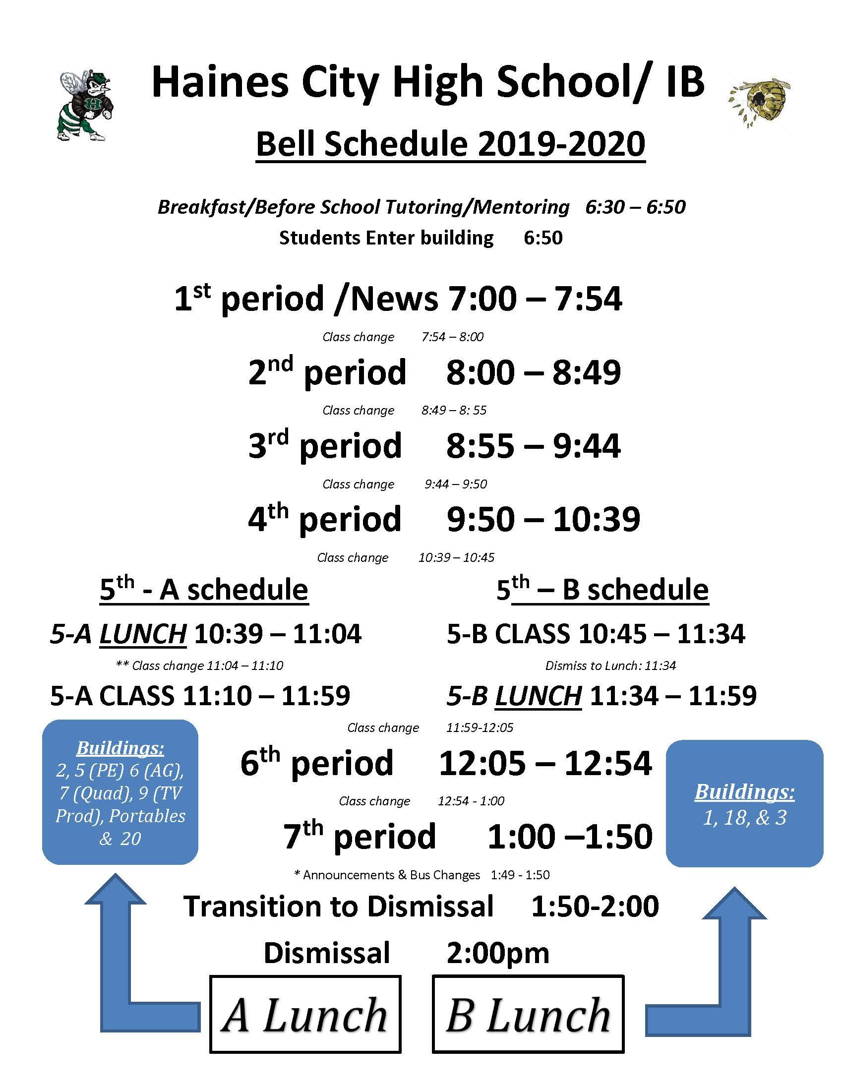 Bell Schedule – Haines City High School inside Haines City High School Bell Schedule