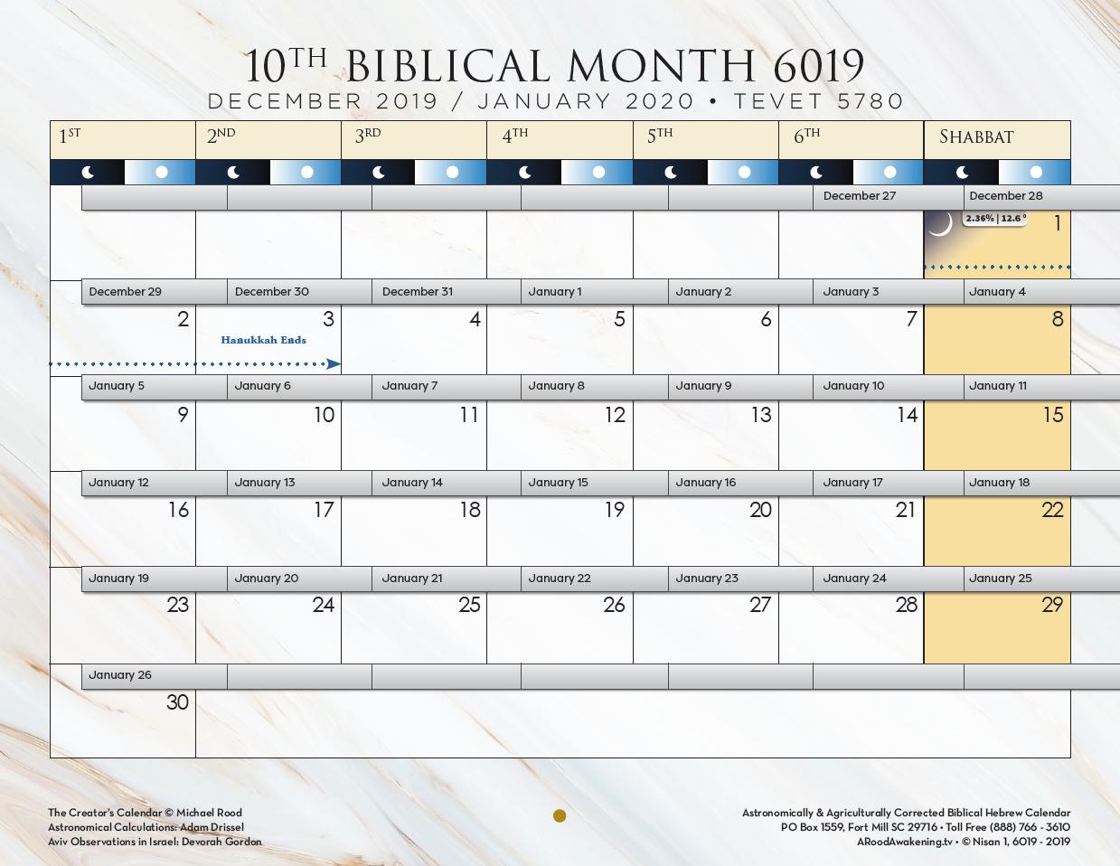 Biblical Calendar | A Rood Awakening! International throughout A Rood Awakening Calendar