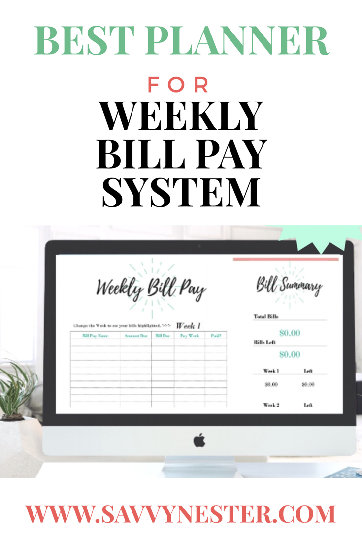 Bill Due Planner | Bill Pay | Expense Tracker | Bill Payment regarding Bill Pay Calendar Organizer