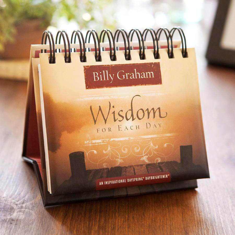 Billy Graham  Wisdom For Each Day  365 Day Perpetual within Billy Graham Wisdom For Each Day 365 Day Perpetual Calendar
