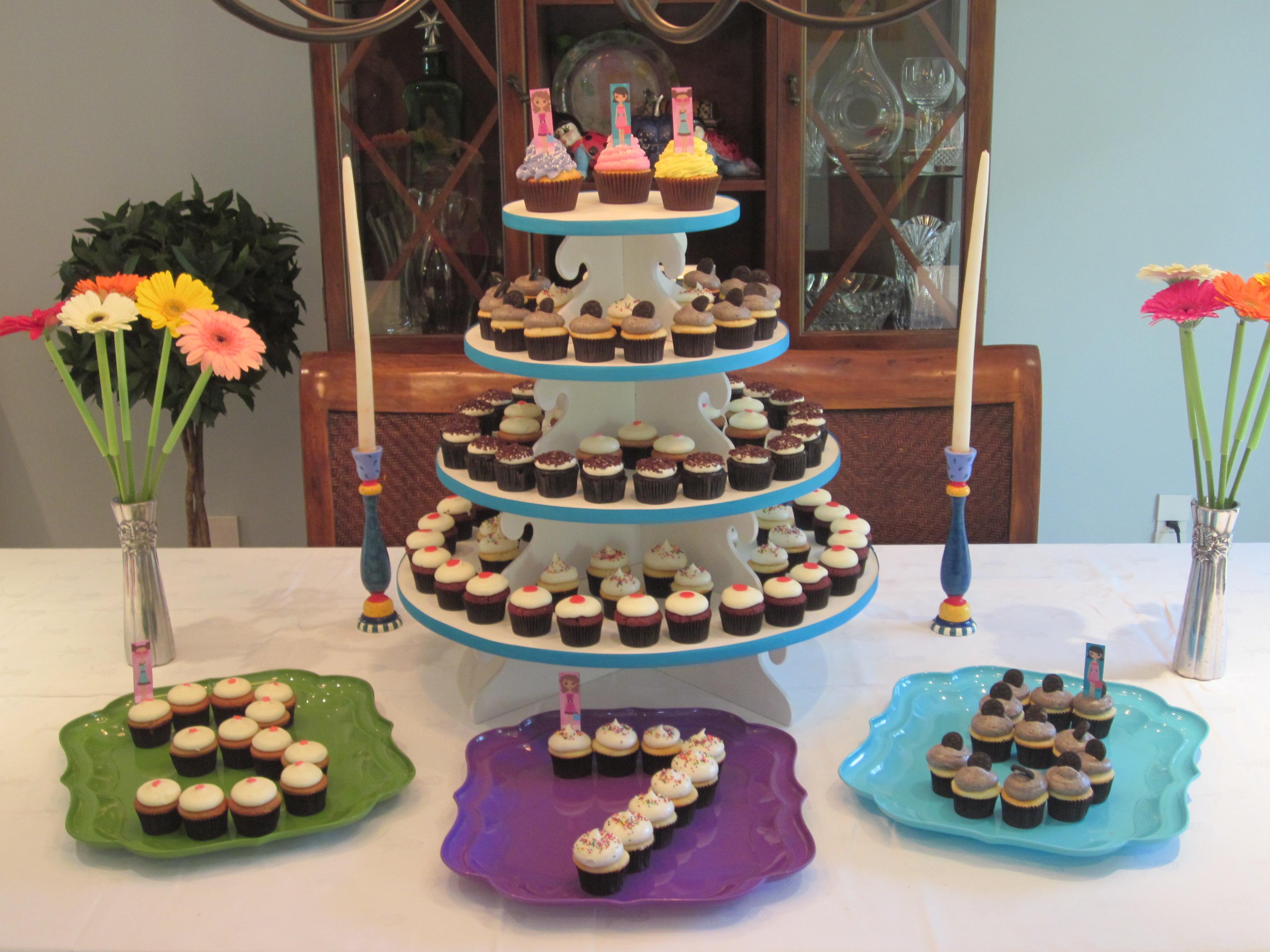 Birthday Cupcake Displays | Sugar Mama in Birthday Display Cupcakes