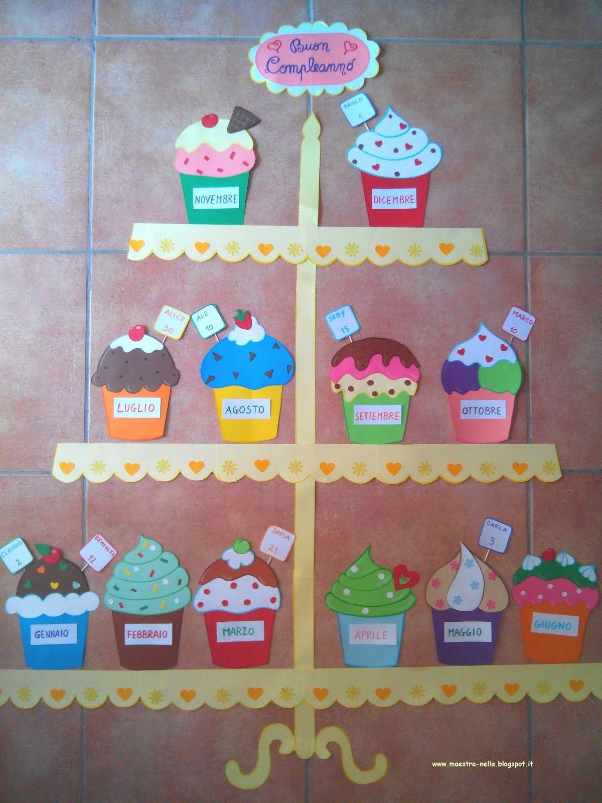 Birthday Cupcakes On A Stand | Daycare Decor | Classroom regarding Birthday Display Cupcakes