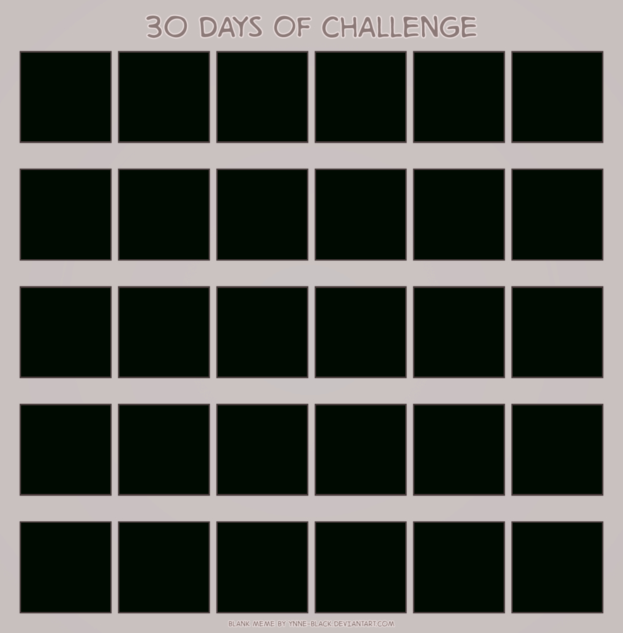 Blank 30 Day Calendar with regard to Blank 30 Day Calendar Template
