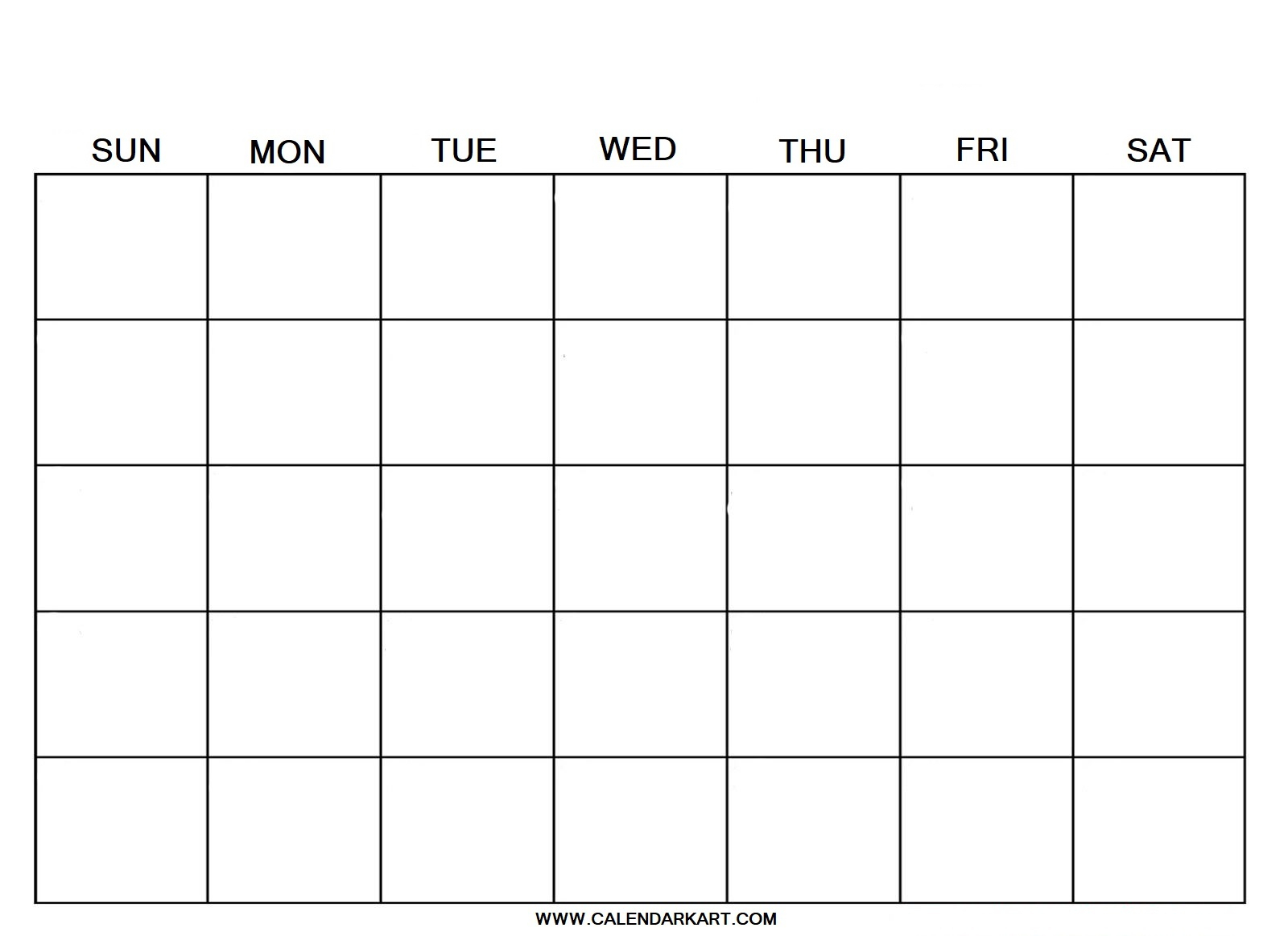 Blank Calendar  Calendarkart in Printable Calendar 2020 With Time Slots