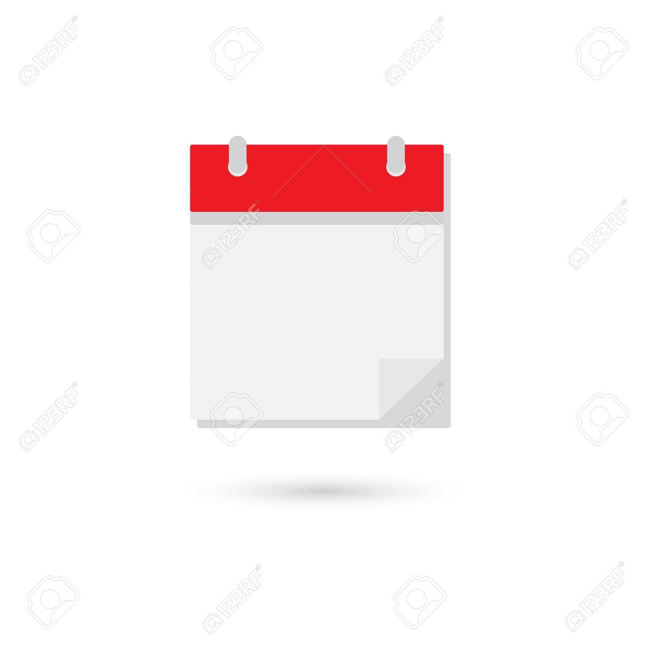 Blank Calendar Icon inside Blank Calendar Icon
