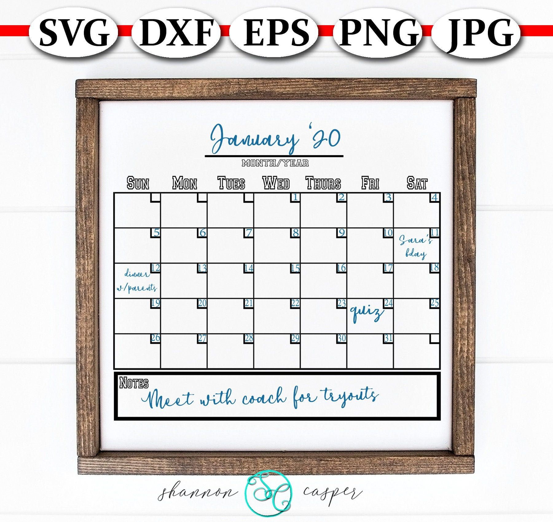 Blank Calendar Svg Downloadable File | Blank Calendar, Wine throughout Blank Calendar Svg