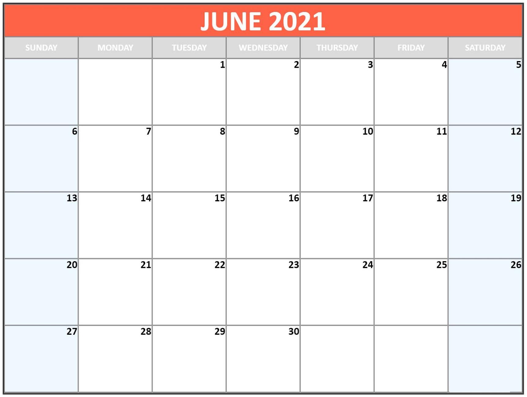 Blank Calendar Template Word 2021 Various Months | Calendar in Blank Calendar Template Word