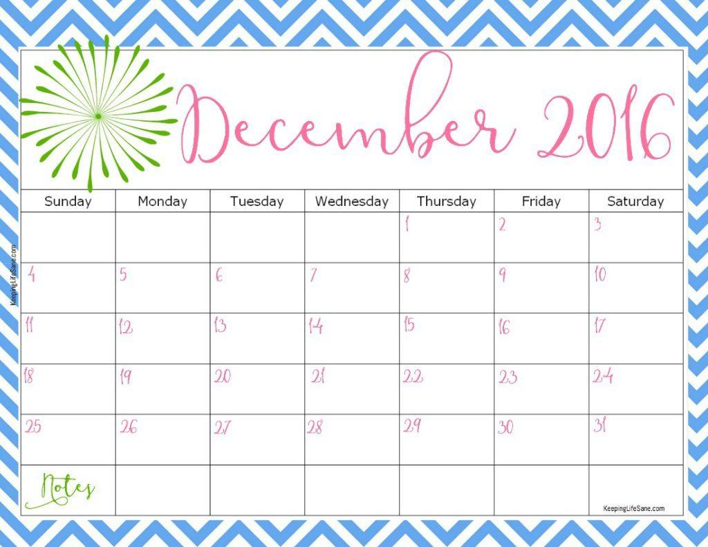Blank December Calendar 2017 Decorated Calendar Template in November Decorated Calendar