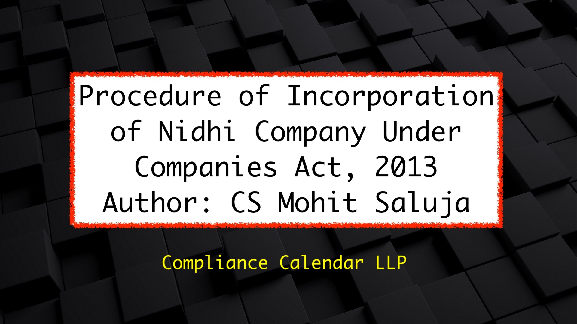 Blogs | Compliance Calendar Llp for Compliance Calendar Under Companies Act 2013
