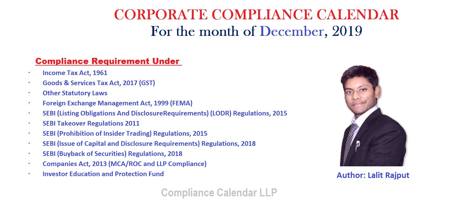 Blogs | Compliance Calendar Llp with regard to Compliance Calendar Under Companies Act 2013